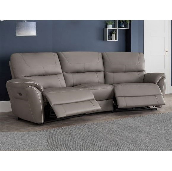 Awe Inspiring Dexie 4 Seater Curve Power Recliner Sofa Gmtry Best Dining Table And Chair Ideas Images Gmtryco